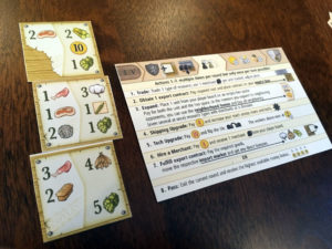 Clans of Caledonia Actions