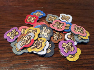 Imperial Settlers: Aztecs Prayer Tokens