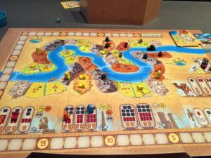 Sailing Toward Osiris Game Board