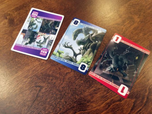 3-4 Headed Monster Cards
