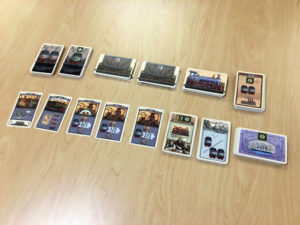 Coal Baron Card Game Components