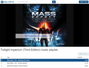 Melodice Twilight Imperium