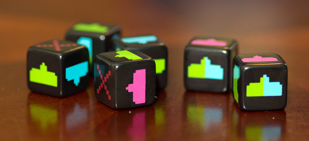 Space Invaders: Dice