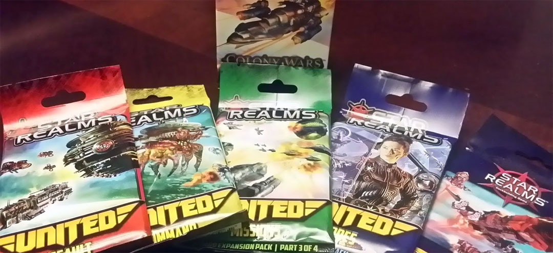 Star Realms Colony Wars and United