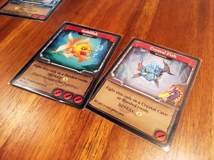 Clank! Sunken Treasures Monsters