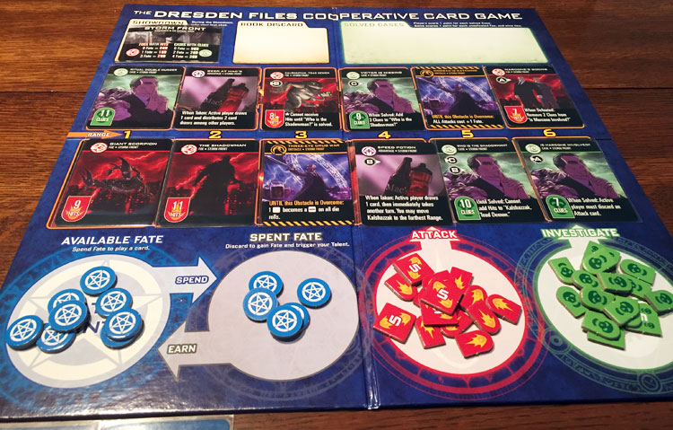 Dresden Files Cooperative Card Game Game Experience