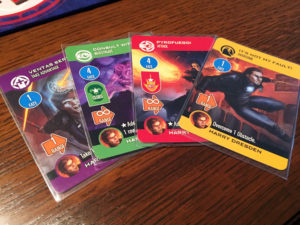 Dresden Files Cooperative Card Game Cards