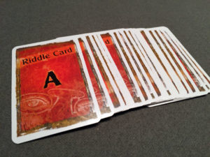 EXIT: The Game Riddle Cards