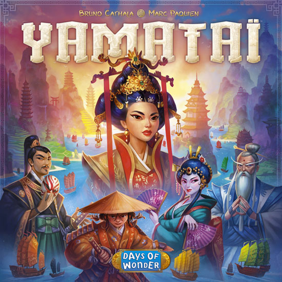 Yamatai Review   Board Game Quest image