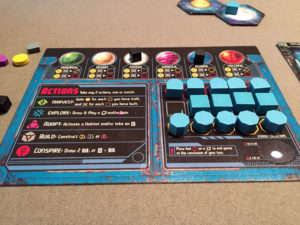 Horizons Player Board