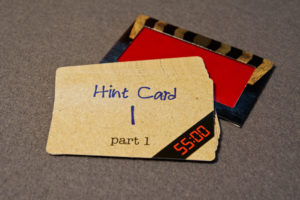 Escape Room: The Game Hint Cards