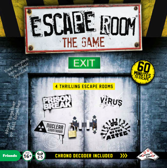 Escape room the game review board quest