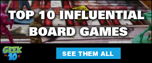 Top 10 Influential Board Games