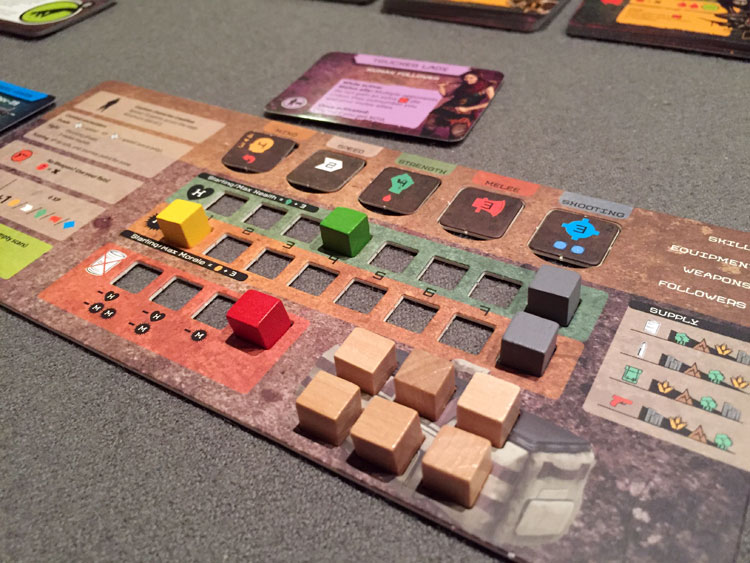 Posthuman Player Board