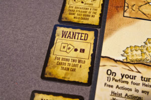Train Heist Wanted Cards