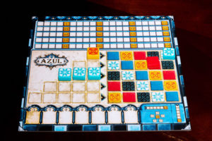 Azul Player Board