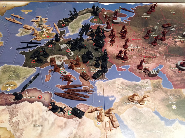 Axis & Allies Anniversary Edition Review | Board Game Quest