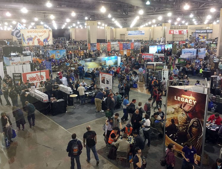 Pax Unplugged Crowds