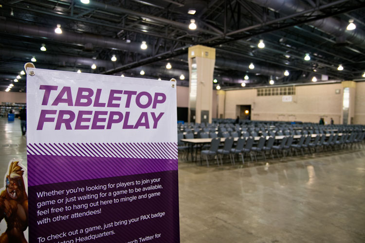 Pax Unplugged Freeplay