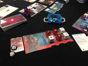 The Reckoners Board Game Dice