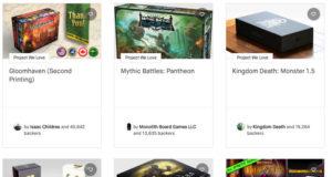 Kickstarter Backing