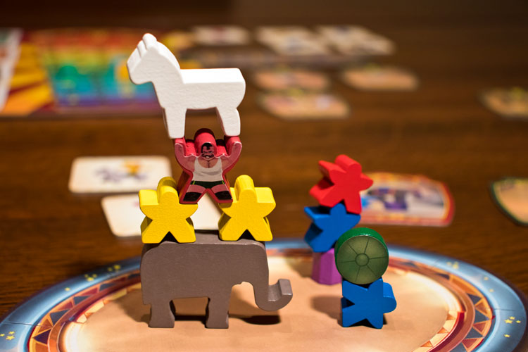 Meeple Circus Game Experience