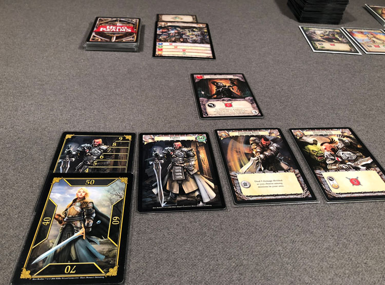 Hero Realms: The Ruins of Thandar Game Experience