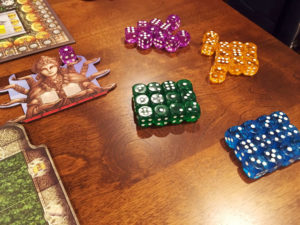 Rajas of the Ganges Dice