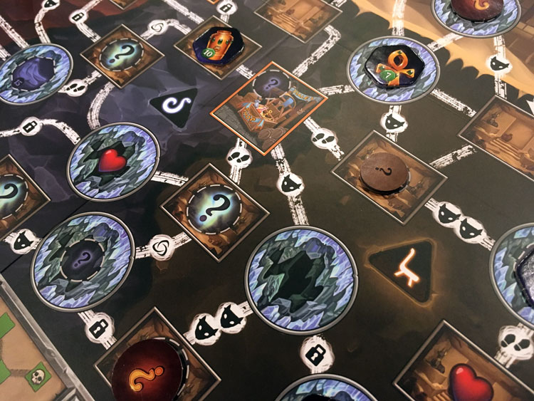 Clank: The Mummys Curse Board