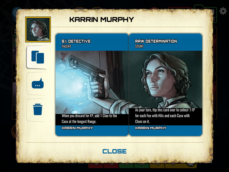 Dresden Files Card Game iOS Character