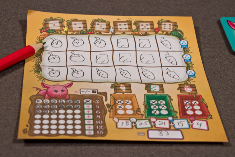 Harvest Dice Game Experience