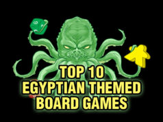 Top 10 Egyptian Themed Board Games