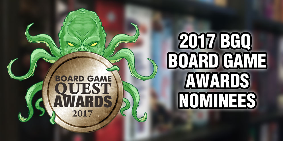 2017 Board Game Awards