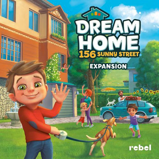 Dream Home: 156 Sunny Street Expansion Review | Board Game Quest