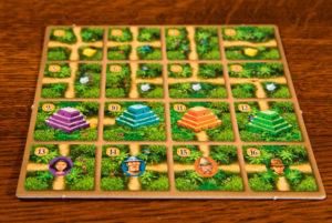 Karuba: The Card Game Player Aid