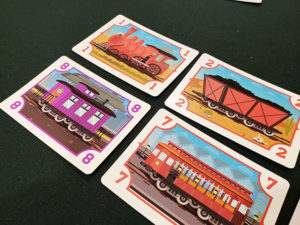 Cabooses in the Corner Cards