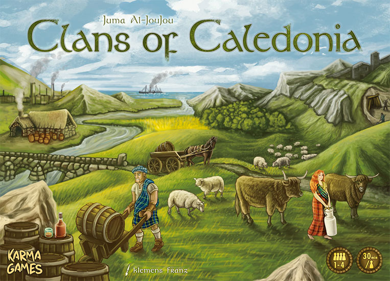 Clans of Caledonia Review | Board Game Quest image