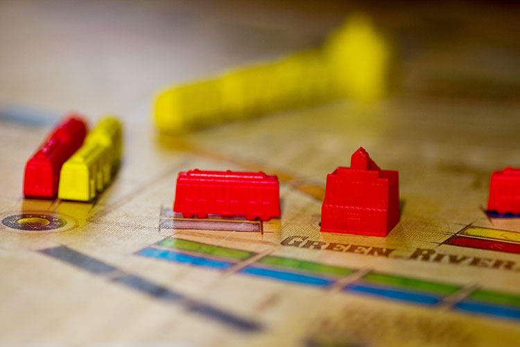 Ticket to Ride France and Old West Game Experience