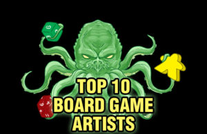 Top 10 Board Game Artists