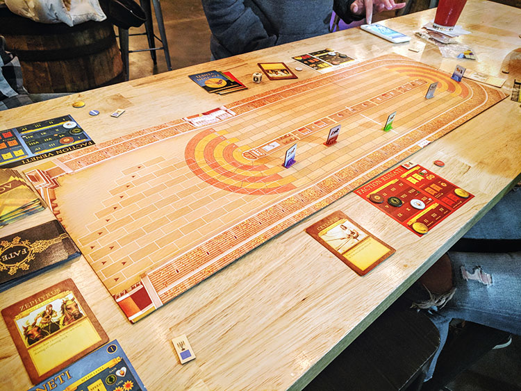 Chariots of Rome Game Experience