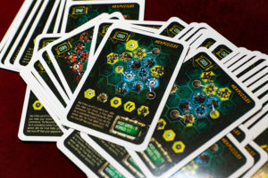 Neuroshima Hex Iron Gang Hexpuzzles Cards