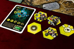 Neuroshima Hex Iron Gang Hexpuzzles Components