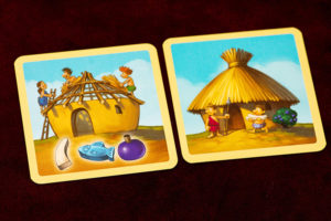 My First Stone Age: The Card Game Huts