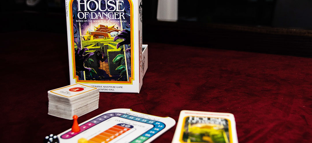 Choose Your Own Adventure House Of Danger Review Board