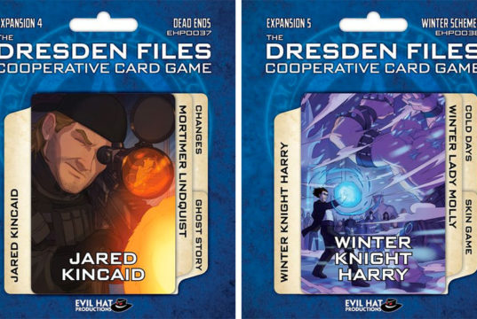 Dresden Files Card Game Expansions