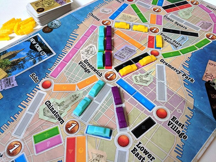 Ticket to Ride: New York Game Experience