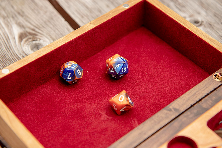 Tome of Holding Dice Rolling