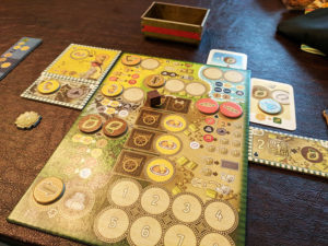 Altiplano Player Board