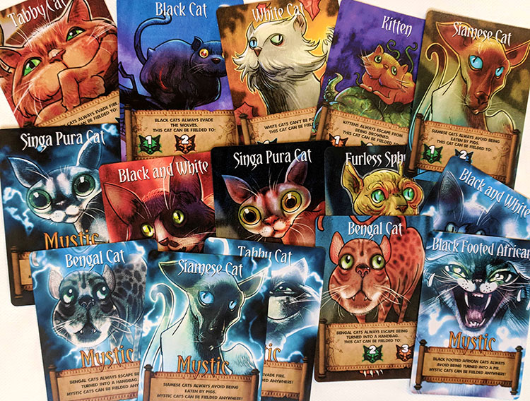 The Cats of Ulthar Cards