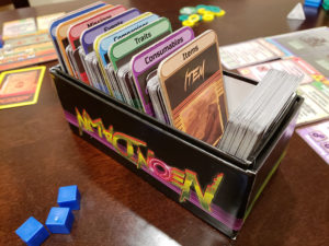 Neon Dawn Cards